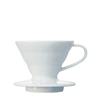 Hario - Coffee Dripper V60 01 - Ceramic white
